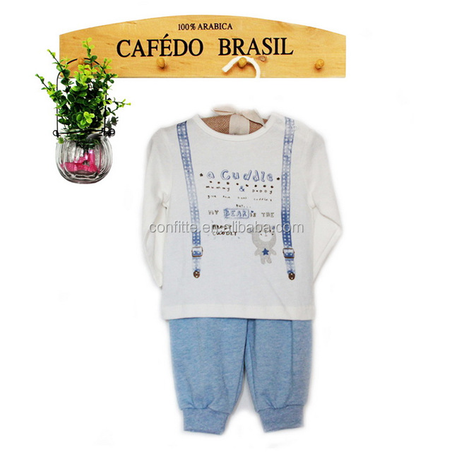 Fashion kids boy knitted infant clothing baby cloth