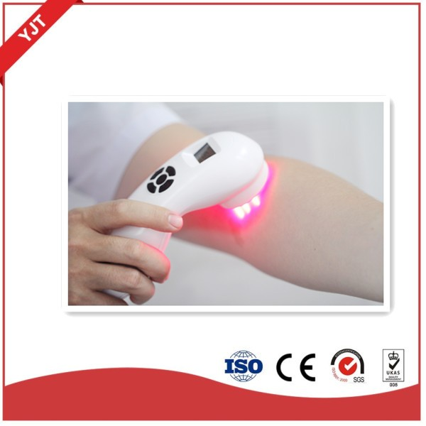 Electric medical pain relief portable physical laser therapy device used at anywhere and anytime