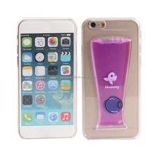 [somostel] Hot selling ultra thin PC TPU 3d liquid phone case for iphone 5 5c 6 6s