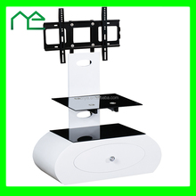Cheap high gloss white tv stand modern desgin wooden led tv stand