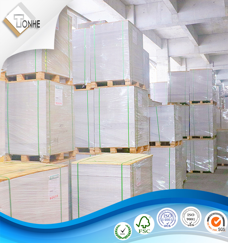 coated duplex gray back board printing paper in sheets