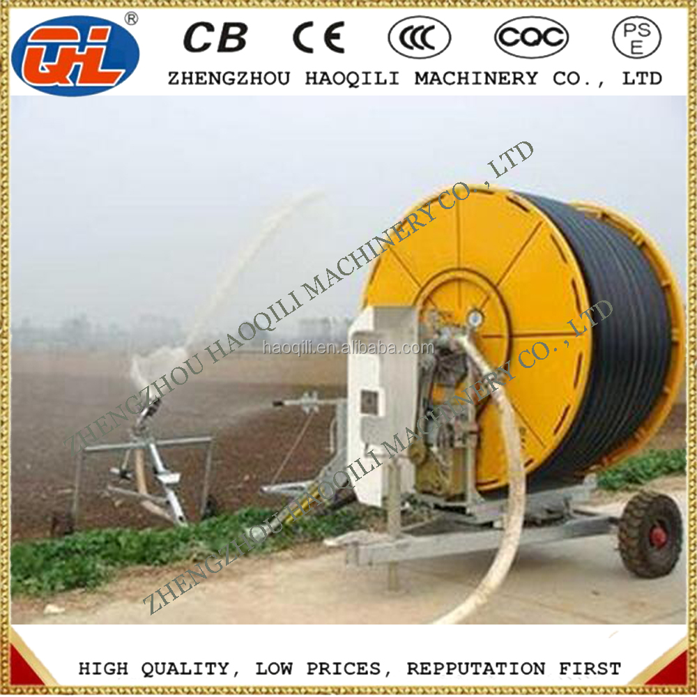 Mobile hose reel agricultural irrigation system | sprinkler irrigation system