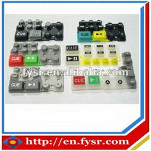 Mobile Phone Silicone Keypad with Carbon Pills