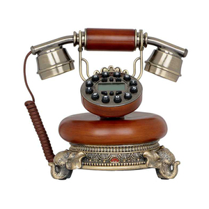 216D Classic cheap pretty art corded poly antique telephone for hotel home decor