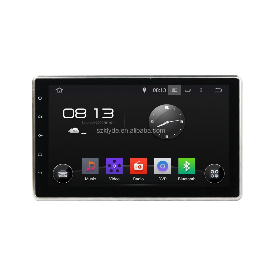 Two Din 10.1 HD SCREEN Car DVD Player OEM Android 5.1 mirror link DVR Car Multimedia System
