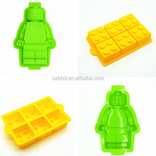 Super Hero Minifigures Baking Pan, funny Minifigure Silicone Cake Molds