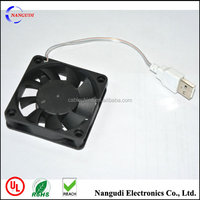 5V USB power cable connector 60*60*15mm computer cooling fan