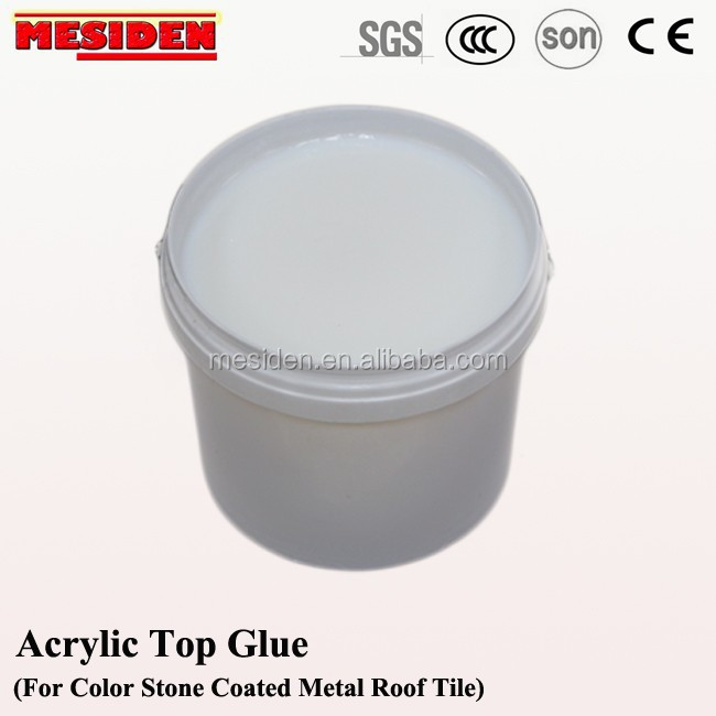 Acrylic Adhesive For Metal Roof Tiles Waterproof Tile Glue