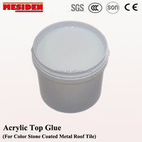 Acrylic Adhesive For Metal Roof Tiles Waterproof Tile Glue