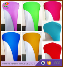 wholesale spandex stretch polyester chair covers head caps hoods and sashes for wedding