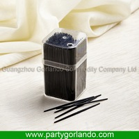 Design promotional plastic dental toothpicks