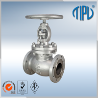 ASME B16.5 inlet angel valve for oil and gas