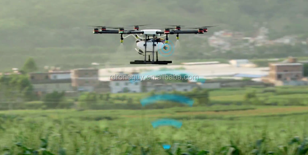 Original Agricultural Spraying drones RC QUADCOPTER WITH GPS Spraying pesticide DJI Agras DRONE MG-1S