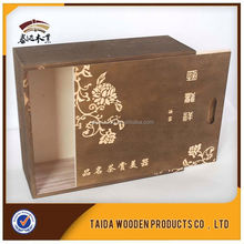OEM Cheap Wood Tea Boxes For Storage