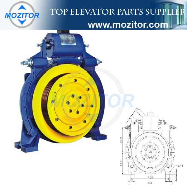 elevator company|Traction System|Traction Machine MZT-MG-G100|elevator traction machine