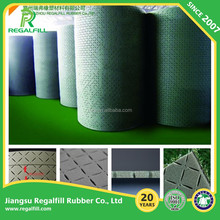 Shock absorber pad for artificial turf system