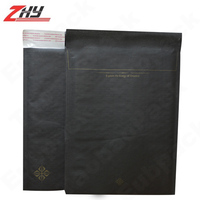 printed black packaging bubble envelope, mail boxes