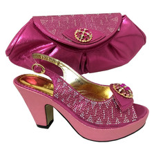 The shoe lady wholesale women pumps shoes italian shoes and bags to match women