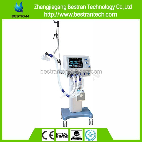 "BT-S700B1 CE ISO hospital 10.4""LCD display screen cheap adults medical ventilator price"