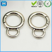 Purse Metal Open Jump Ring Spring Ring Clasp Gate Ring
