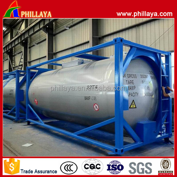 Widely Used LPG Storage Tanks For Sale/Propane Transport 20FT 40FT Tank Container