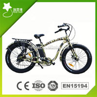 Pedal Assistant 36V 250W electric fat tire bicycle with 8fun motor