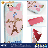 Cartoon PU Leather for Apple for iphone Cover Case, Mobile Phone Case for iphone 6