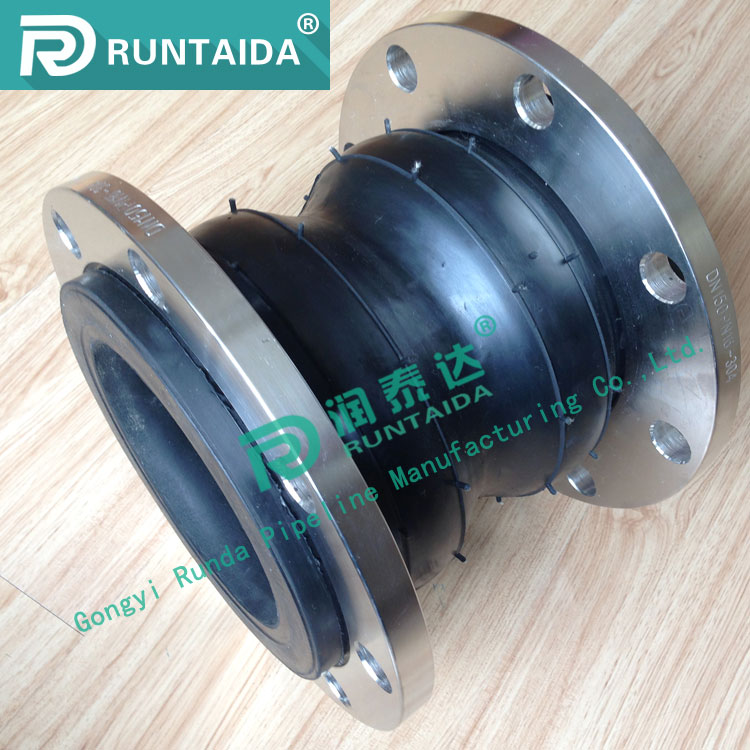 High quality double-sphere flexible rubber expansion joints