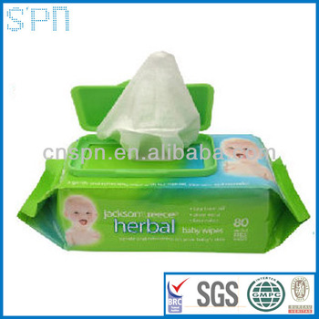 biodegradable high quality canister packing baby wet wipes