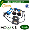 2014 new design IP67 35000hours lifetime 2600lm 5000K led car headlight kit H1 H4 H7 H11 H13