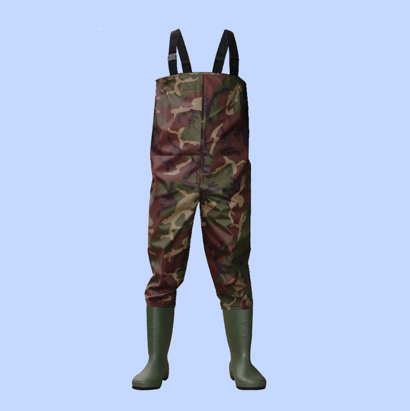 high quality 100% waterproof pink camo neoprene fishing wader