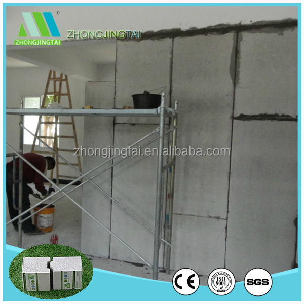 heat thermal insulation interior exterior wall board for buildings