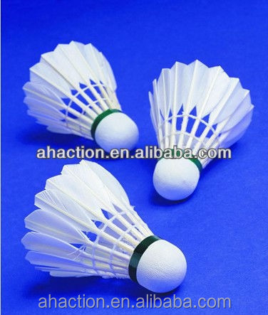 top quality duck feather sandwich cork head badminton shuttlecock sale For International tournament TAYOD -4