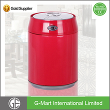 Small Round Stainless Steel Table Dustbin Small Waste Bin Garbage Can For Table