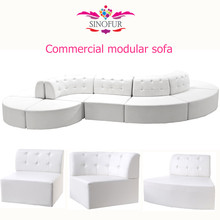 Newest coco commercial modular lounge sofa seating <strong>furniture</strong>