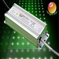 CE RoHS waterproof power supply 50w 3 years warranty