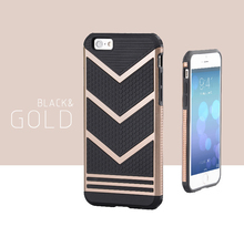 2 in 1 Shockproof Design Hybrid Durable Silicon +PC Phone Case Back Cover for iPhone 4