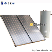 solar collector panels flat plate solar water heater