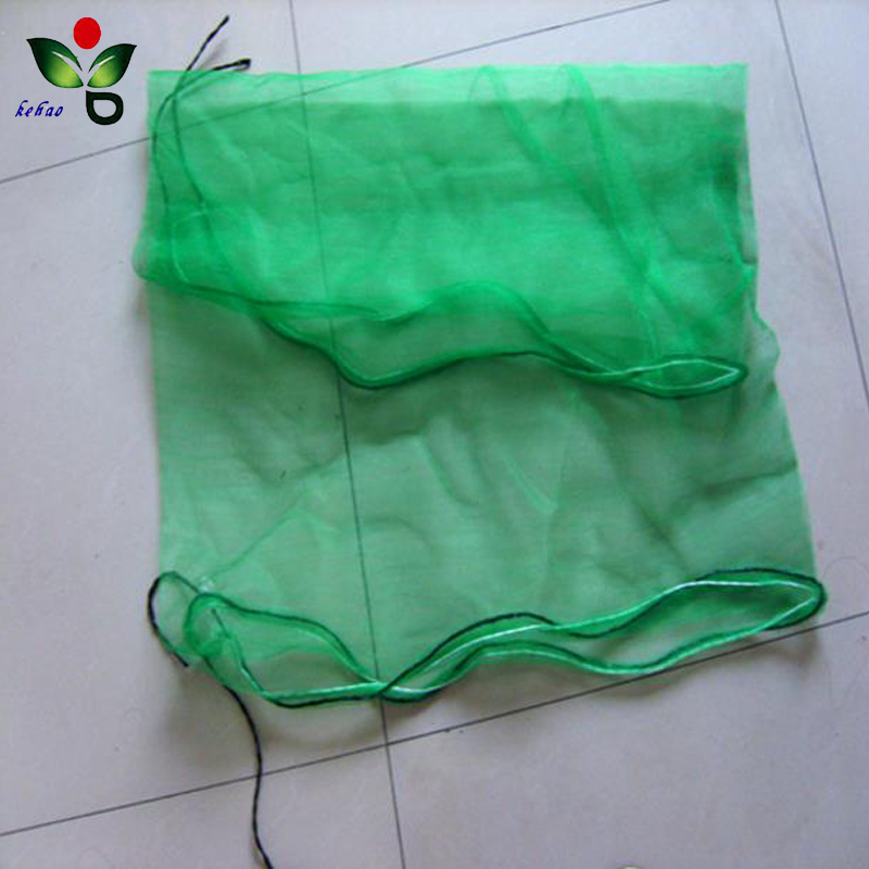 net bag for garlic/net mesh bag with drawstring or handle
