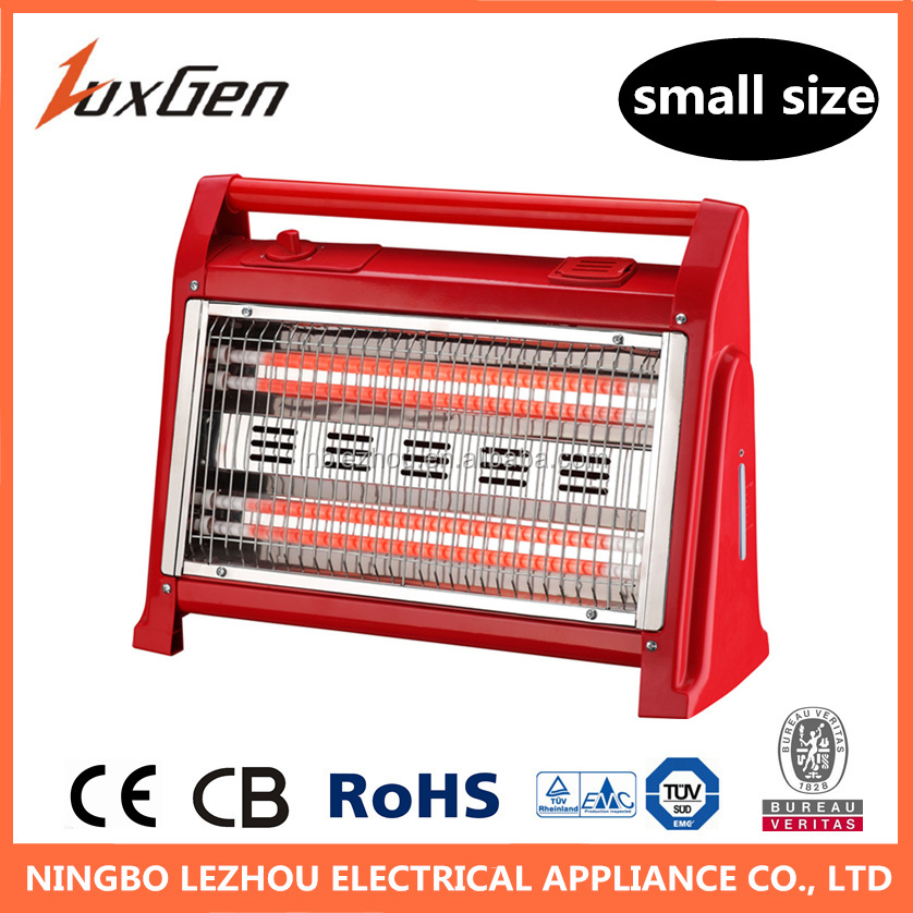 1600W low power electric room quartz tube heater