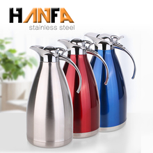 Promotional insulated vacuum carafe 18/8 stainless steel coffee thermos pot