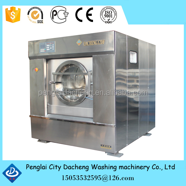 120kg ~ 130kg full automatic Laundry Equipment used In hotels/Laundry washing machine