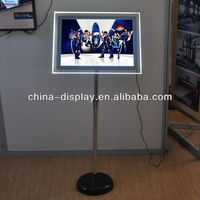 Advertising Light Box Standing Acrylic Free Standing LED Light in the box Limited