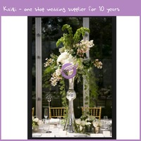 k7000 hand blown cheap tall cylinder glass vase for wedding centerpieces