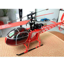 New Arrived! V915 2.4G 4CH High Simulation RC Lama Helicopter RTF