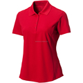 Performance Ladies Jersey polyester golf polo shirt Womens Essentials Polo Shirt