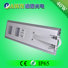 40W excellent motion sensor integrated all in one solar led street light appliance led traffic signals industrial pipe lamp