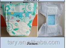 China factory sleep cotton cheap price baby diaper export to the world