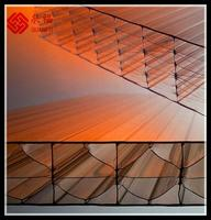 Transparent roof and glazing 10 years warranty lexan material pc sheet