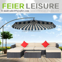 Modern Outdoor self assemble rattan furniture